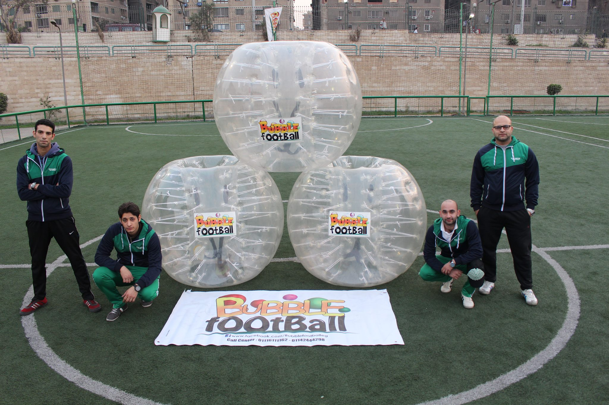 Bubble Football - Smart Village