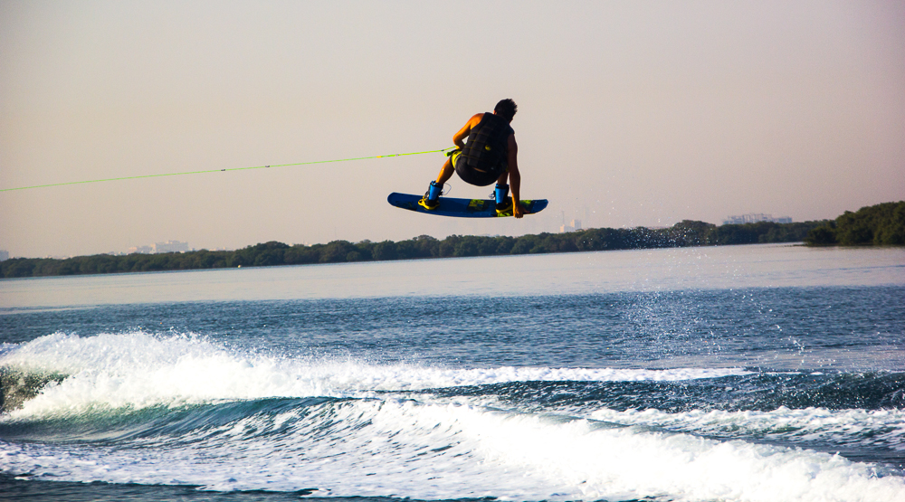 Wake Evolution - Abu Dhabi